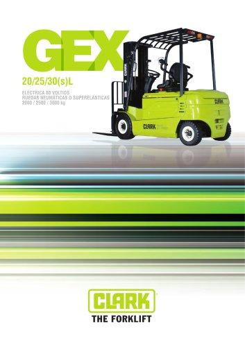 Carretilla elevadora eléctrica de cuatro ruedas GEX20-30sL