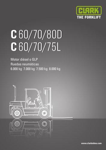 CLARK C60/70/80D C60/70/75L
