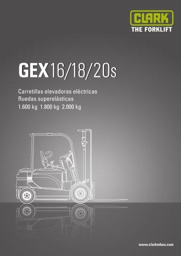 CLARK GEX16/18/20s