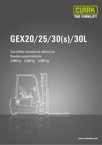 CLARK GEX20/25/30(s)/30L
