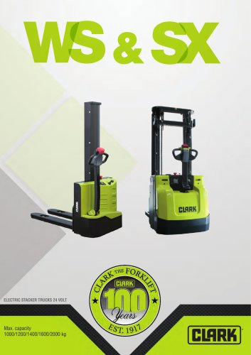 Electric stacker SX12/16