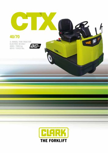 Electric tow tractor CTX40/70