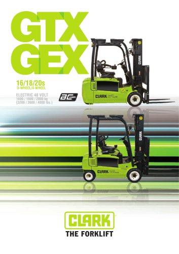 Elektric Forklifts GEX 16/18/20s
