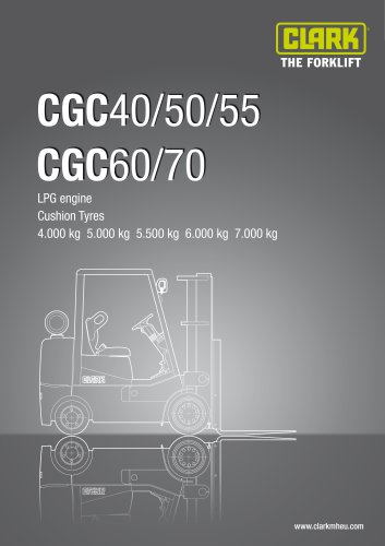 Specification sheet CGC40-70