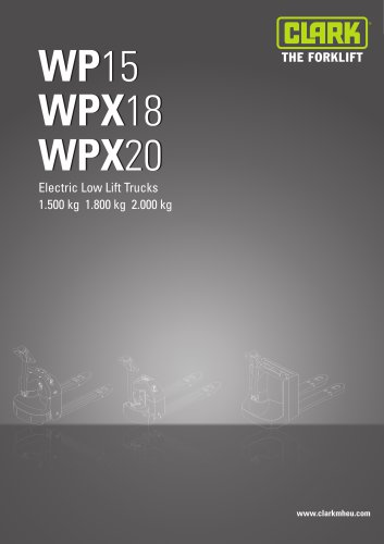 Specification sheet WP15-WPX18/20