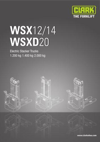 Specification sheet WSX12/14 WSXD20