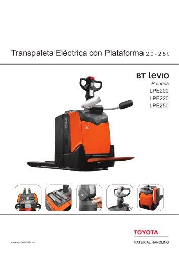 BT Levio P-series - Transpaleta Eléctrica con Plataforma2.0 - 2.5 t