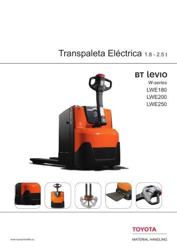 BT Levio - Transpaleta Eléctrica 1.8 - 2.5 t