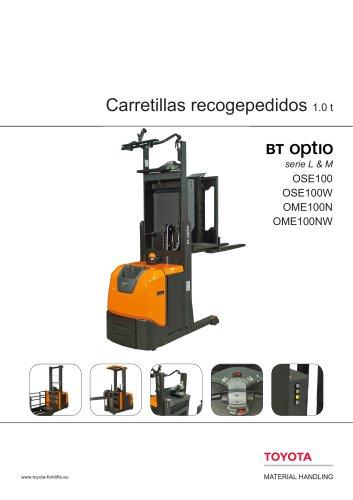 BT Optio serie L & M - Carretillas recogepedidos 1.0 t