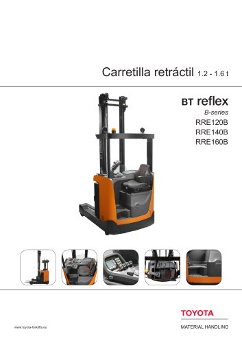 BT Reflex B-series - Carretilla retráctil1.2 - 1.6 t
