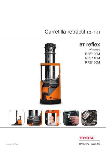 BT Reflex N-series - Carretilla retráctil 1.2 - 1.6 t