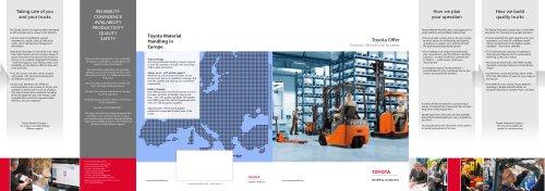 Product range leaflet