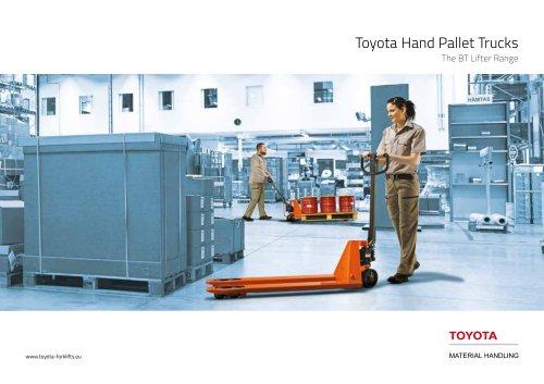 Toyota Hand Pallet Trucks