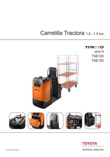 Tracto serie N - Carretilla Tractora 1.0 - 1.5 ton