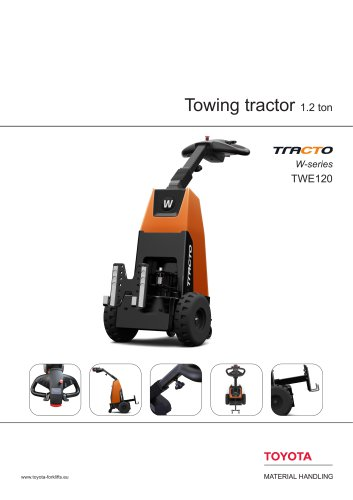 Tracto W-series - Towing tractor 1.2 ton