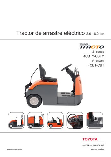 tractores de arrastre 4CBTY