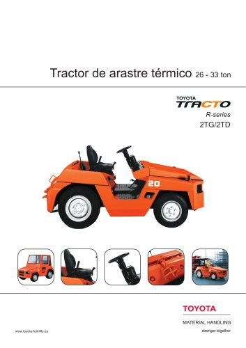 tractores de arrastre térmicos 2TD y 2TG