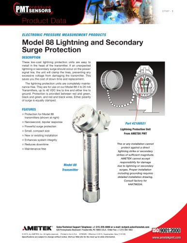 Model-88-Lightning-and-Secondary-Surge-Protection