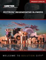 ROTRON Regenerative Blowers