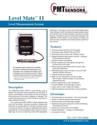 Level Mate™ II Level Measurement System