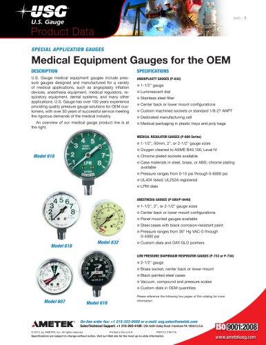 Medical Gauges