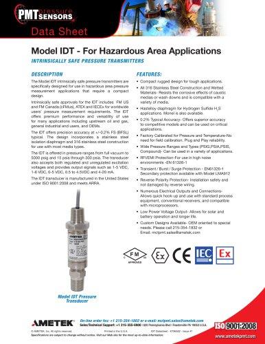 Model IDT