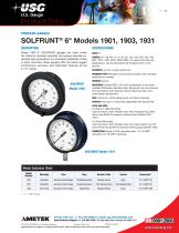 "SOLFRUNT® 6"" Models 1901, 1903, 1931"