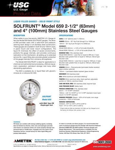 SOLFRUNT Model 659