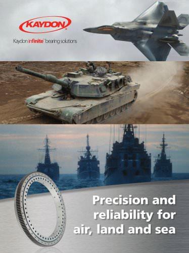 Kaydon Aerospace/Defense brochure