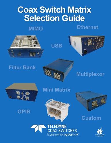 Coax Switch matrix selection guide