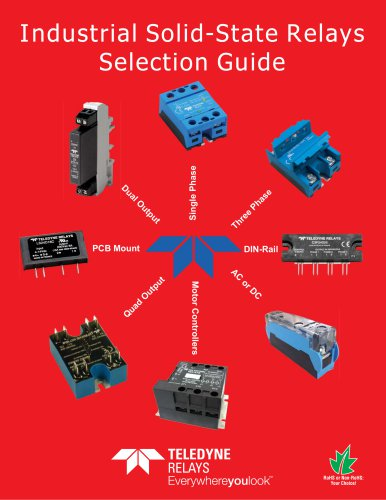 Industrial  solid-state relays :selection guide