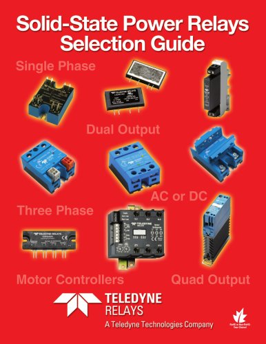 Teledyne Relays - Solid-State Power Relays Selection Guide