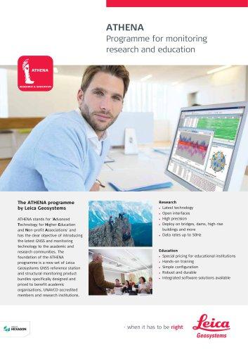 ATHENA Programme - Monitoring Flyer
