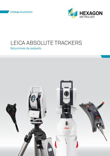 Leica Absolute Trackers Soluciones de palpado