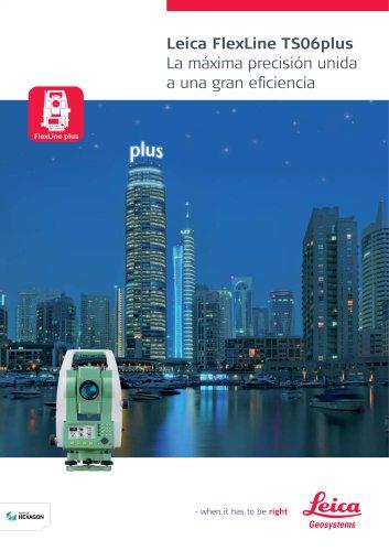 Leica FlexLine TS06plus Brochure