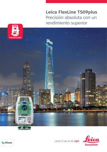 Leica FlexLine TS09plus Brochure