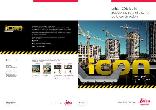 Leica iCON build Construction