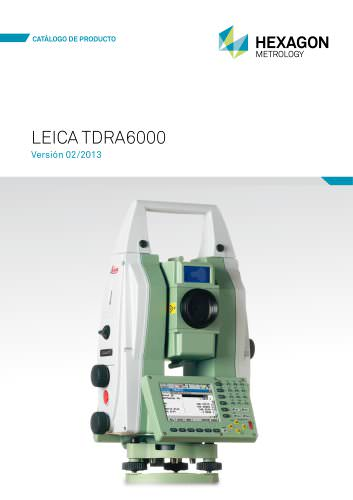 Leica TDRA6000