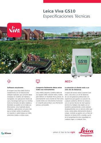 Leica Viva GS10 Data Sheet