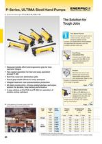 P Series ULTIMA Hydraulic Steel Hand Pumps