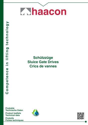 Sluice Gate Drives