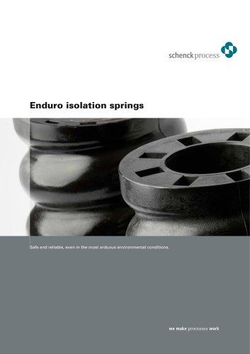 Enduro isolation springs