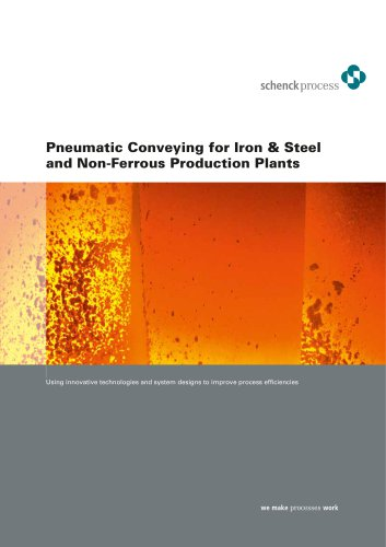 Pneumatic Conveying for Iron & Steel and Non-Ferrous