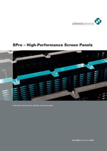 SPro screen panels