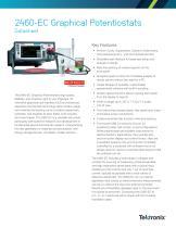 2460-EC Graphical Potentiostats