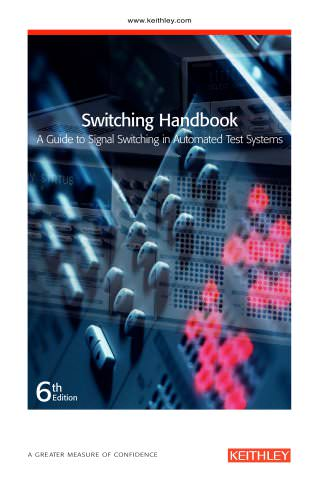 Switching Handbook: A Guide to Signal Switching in Automated Test