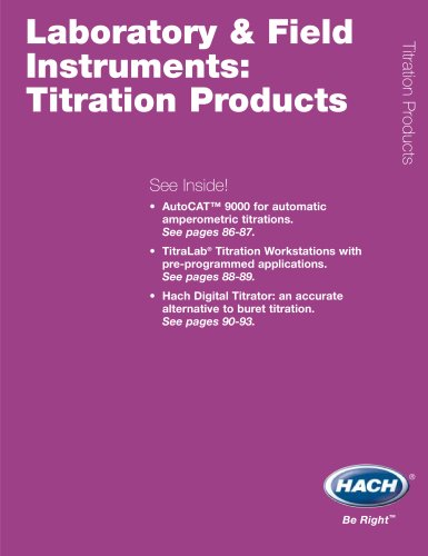 Titration Products