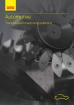 Automotive Transmission machining solutions