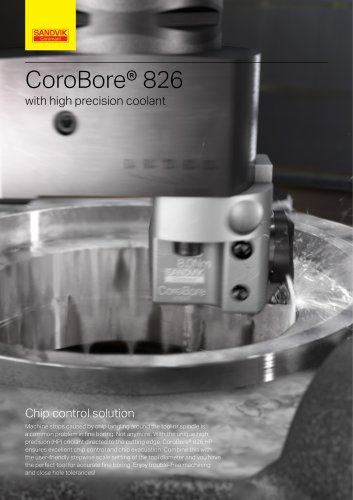 CoroBore® 826