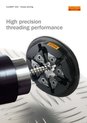 CoroMill® 325 - Thread whirling